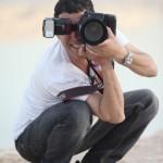 שי אלמוג מצלם לאגודת פתחון לב